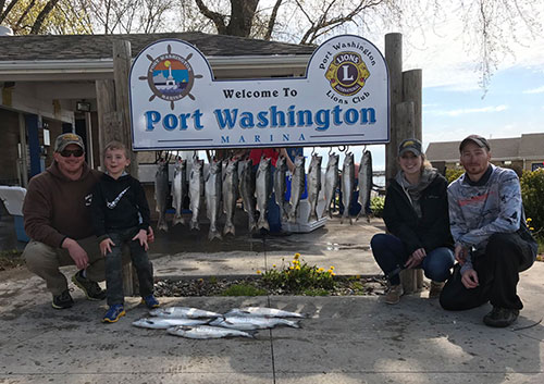 Spring Fishing for Coho